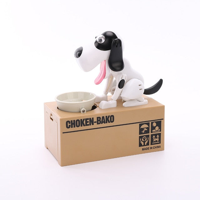 Robotic Dog Coin Bank