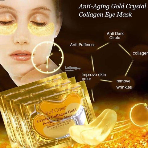 Under Eye Pads for Moisturizing & Reducing Dark Circles Puffiness Wrinkles