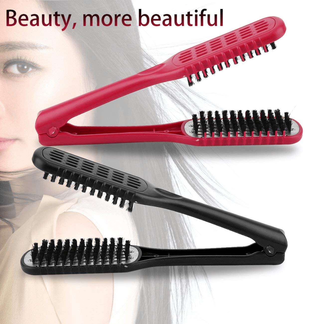 Double Sided Ceramic Straightening Comb