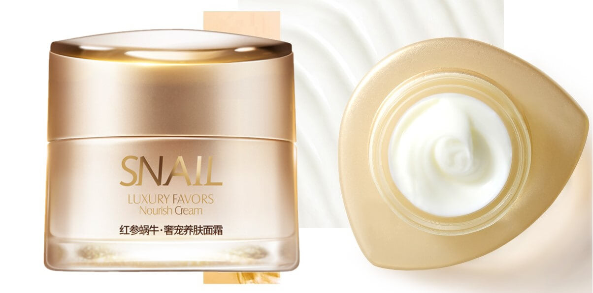 red ginseng snail extract whitening anti aging cream