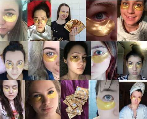 24k Gold Collagen Eye Mask Reviews