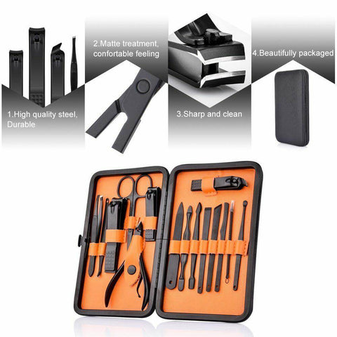 Features of 15 Piece Professional Manicure Set