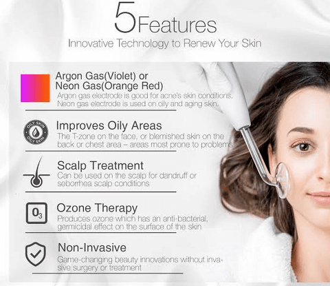 High Frequency Beauty Device Results