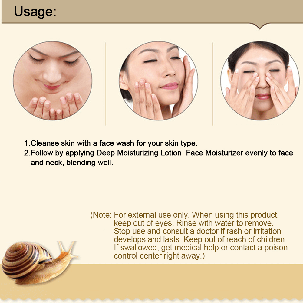 How To Use Snail Repair Cream