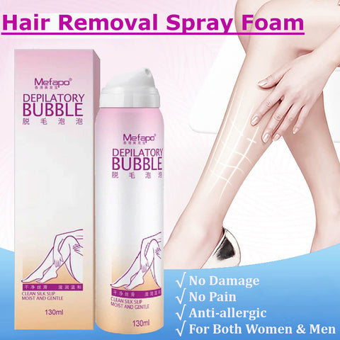 Painless Hair Removal Spray Mousse