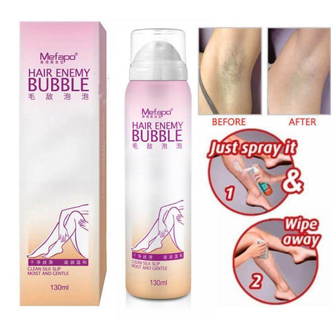 Hair Removal Ointment Spray Mousse Foam