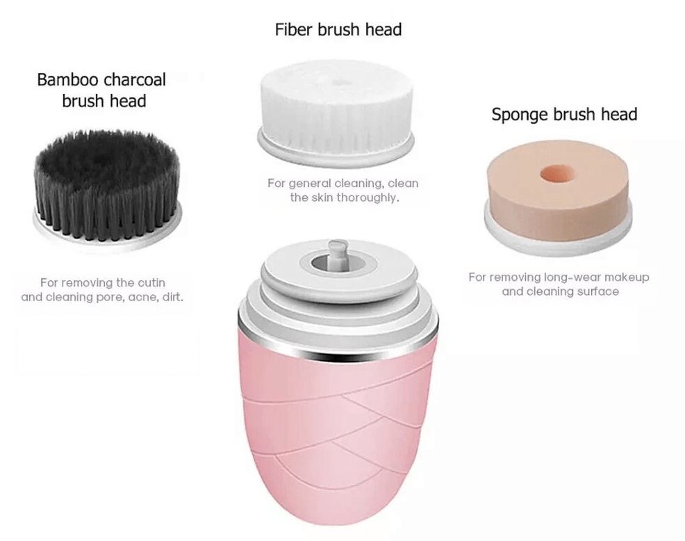 Replaceable Facial Cleansing Brush Heads