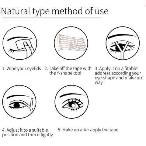 Natural Type Double Eyelid
