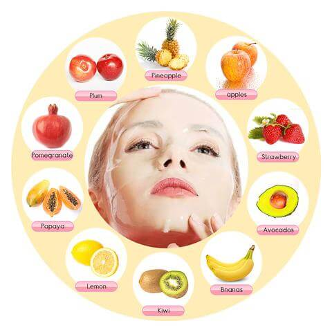 Organic Fruit And Vegetable Facial Mask Machine