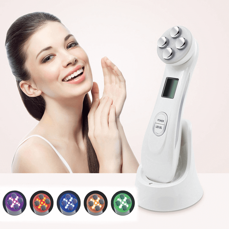 RF EMS LED Ultrasonic Facial Device