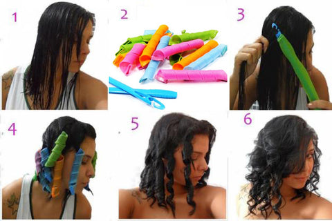 Steps To Use Heatless Curlers