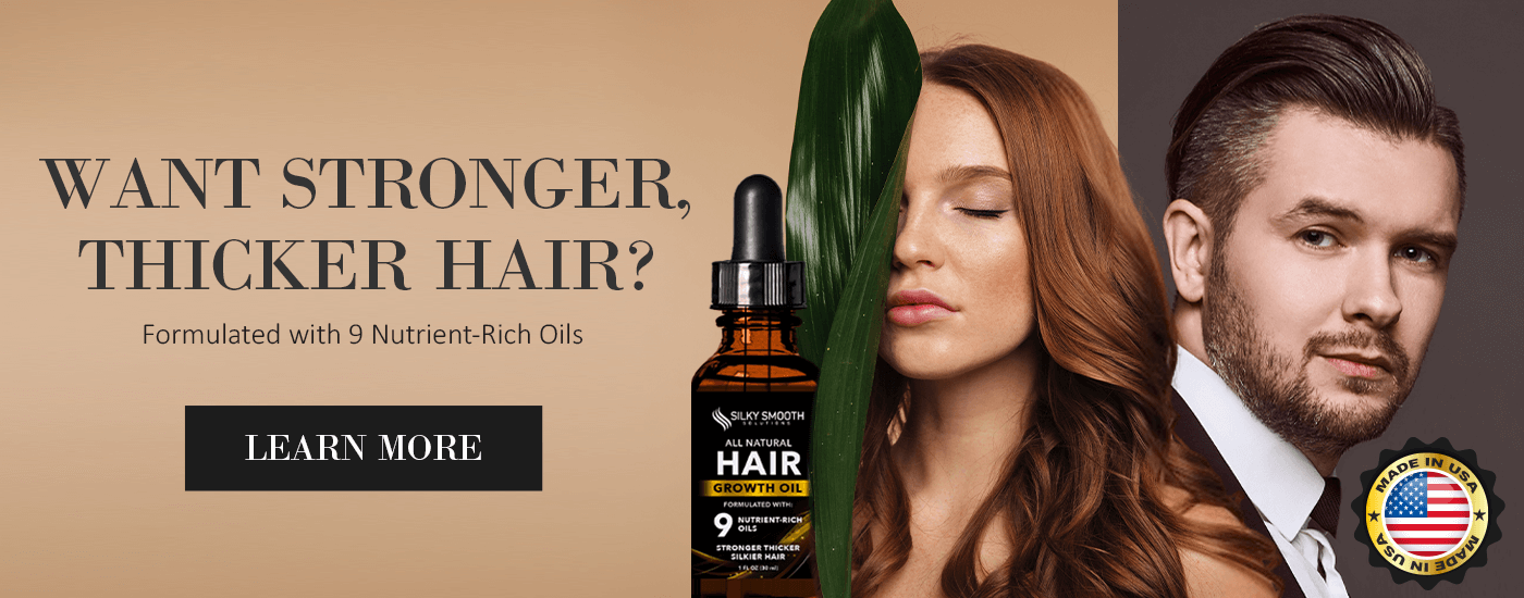 Stronger & Thicker Hair with Silky Smooth Solutions