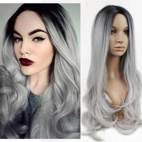 Colored Long Wavy Wigs