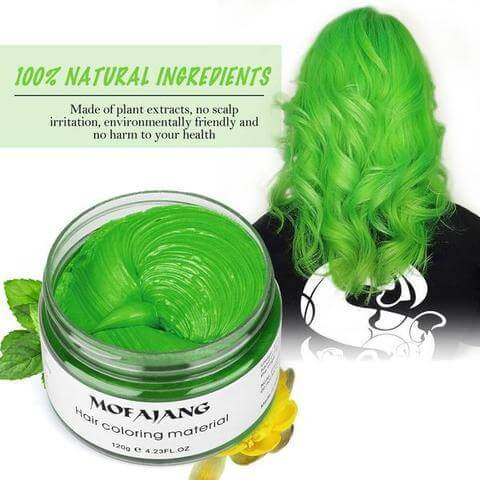 Temporary Hair Color Natural Ingredients