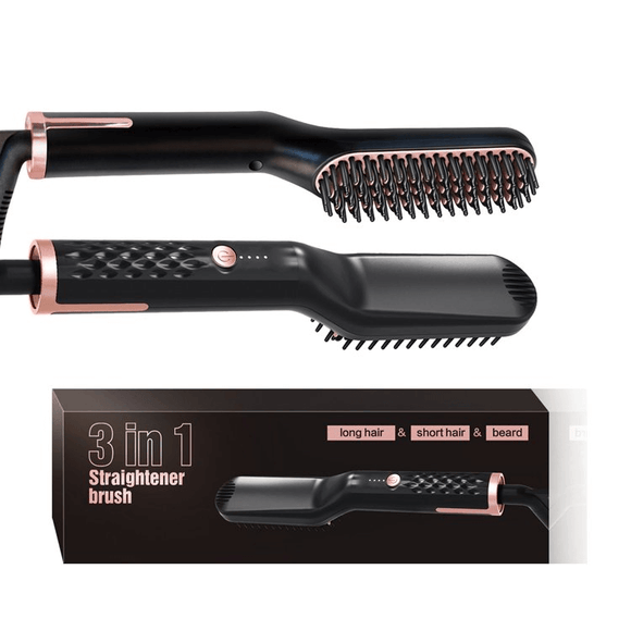 Electric Straightener For Beard And Hair