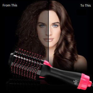Hair Dryer Volumizer Rotating Hot Hair Brush Roller Rotate Styler Comb Styling Straightener Curling