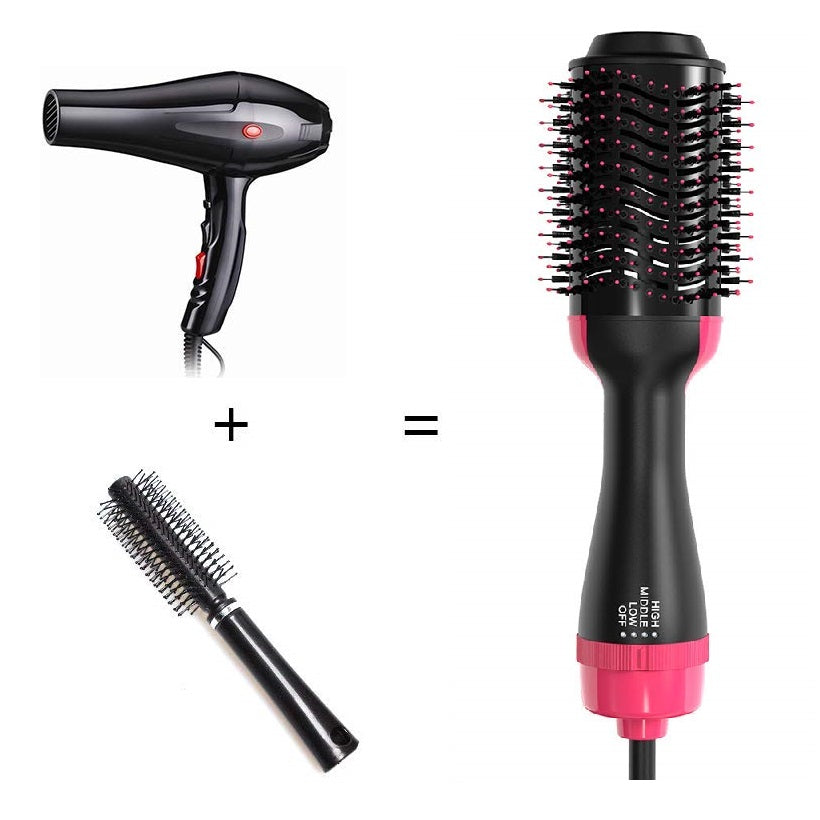 Blower Comb Volumizer Rotating Hot Hair Brush