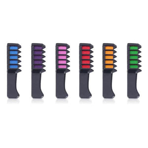 6 Color Hair Combs
