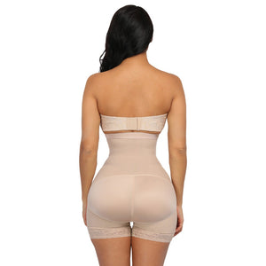 Nude color body shaper back