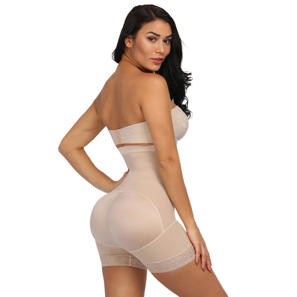 Nude color body shaper side
