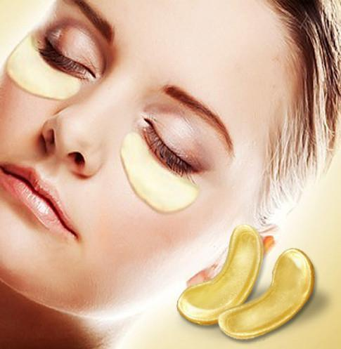 10 Pairs 24k Gold Collagen Eye Mask For Anti-aging And Eye Bags Reduction model