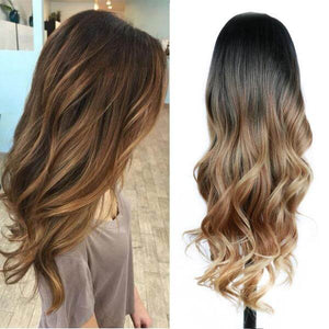 Long Wavy Synthetic Wigs