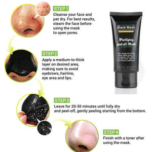 Peel Off Black Mask How To Use