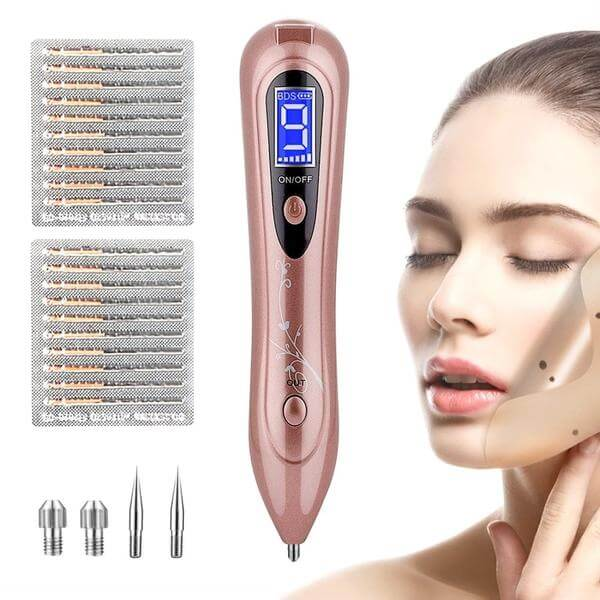 Mole Removal Pen Skin Tag Remover With 9 Strength Levels And Lcd