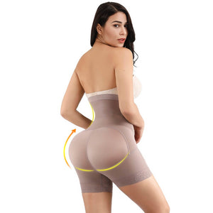 brown color body shaper side