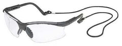 Gateway Clear Safety Glasses, Scratch-Resistant, Half, Wraparound (52-16GB80)