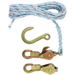 Klein Block & Tackle With Anchor Hook (94-1802-30SR)