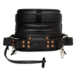 Buckingham BuckMobility Full Float, Stacked Four Dee, Leather Body Belt (41-20182M)