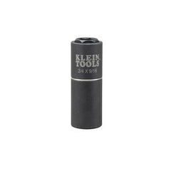 "Klein 2 in 1 impact Socket, 6 Point,  3/4"" & 9/16"" Hex (94-66004)"