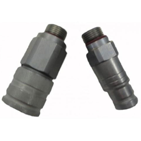 "Holmbury Flat Face Coupler, 1/2"" SAE O-Ring Thread (62-38S)"