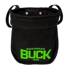 Buckingham Black Canvas Bolt & Nut Bag With Magnetic Strip (41-4570B2M2)
