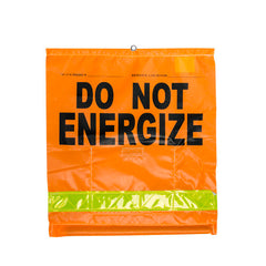 """DO NOT ENERGIZE"" Flag - 8454O3VQ3"