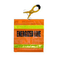"""Energized Line"" Flag w/Clamp - 8456HO3"