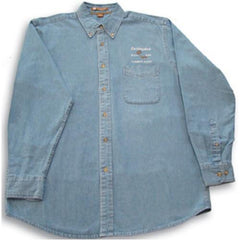 Buckingham Denim Button Up (41-shirt5)