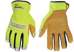 Youngstown Safety Lime Hybrid Gloves Lined w/ Kevlar®(54-12319010)