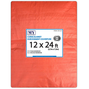 Insulated Concrete Curing Blanket/Tarp