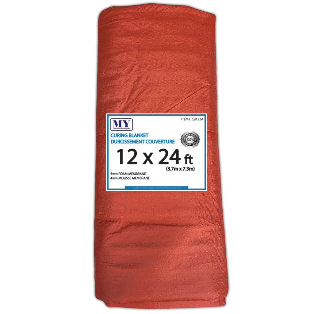 Insulated Concrete Curing Blanket Tarp My Construction