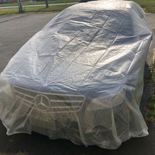 Clear Transparent Tarp - Heavy Duty Reinforced
