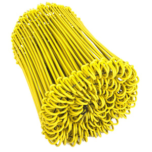 Loop Ties - Yellow Epoxy Coated