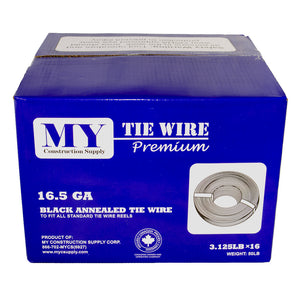 Tie Wire - Premium (Black Annealed) 16.5 GA