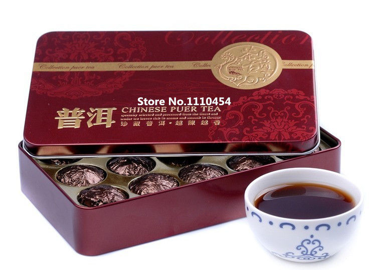 Glutinous Rice Fragrant Mini Tuocha Tin Packaging Puer Tea Puer health Puerh Tea