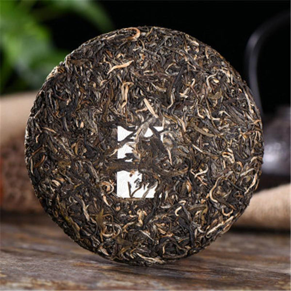 200g Chinese Yunnan Brown Yin Hao Puer Raw Tea Cake Puerh Tea Puer Tea Green Food