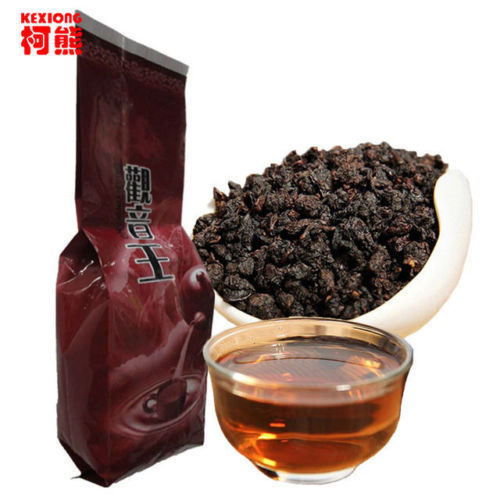 125g Fresh Natural China Black Oolong Tea Slimming Baked Tea Health Care Tieguanyin Tea