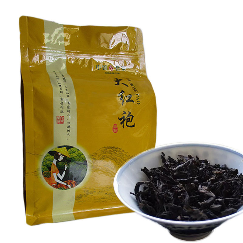 250g Premium Wuyi Da Hong Pao Tea Big Red Robe Oolong Tea Wuyi Dahongpao Cliff Tea