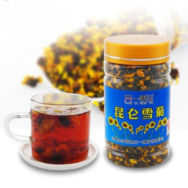 45g Organic Kunlun Mountain Snow Daisy Chrysanthemum Tea Herbal Tea Flower Tea Huacha
