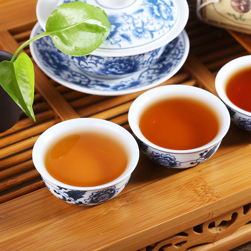 Black tea 200g Premium Nature The Antifatigue Hunan Auhua Brick Tea Decompress